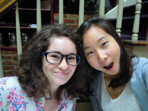 Megan (left)
