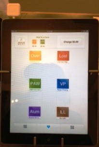 iPad with Square Register App