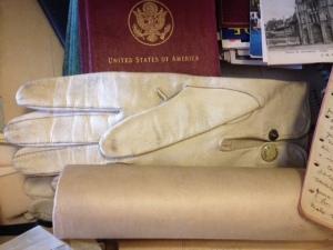 Gloves and Passport