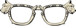 Scottie glasses