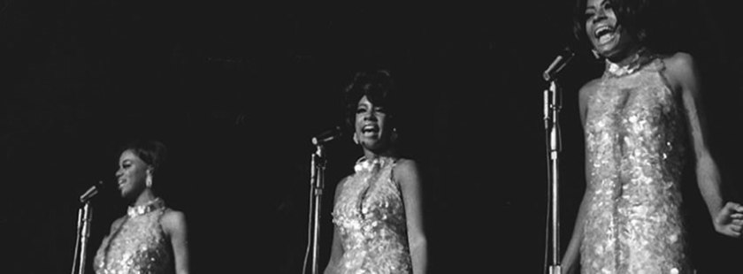 """The Supremes Frontier Hotel Las Vegas 1969."" Originally taken by Las Vegas News Bureau."