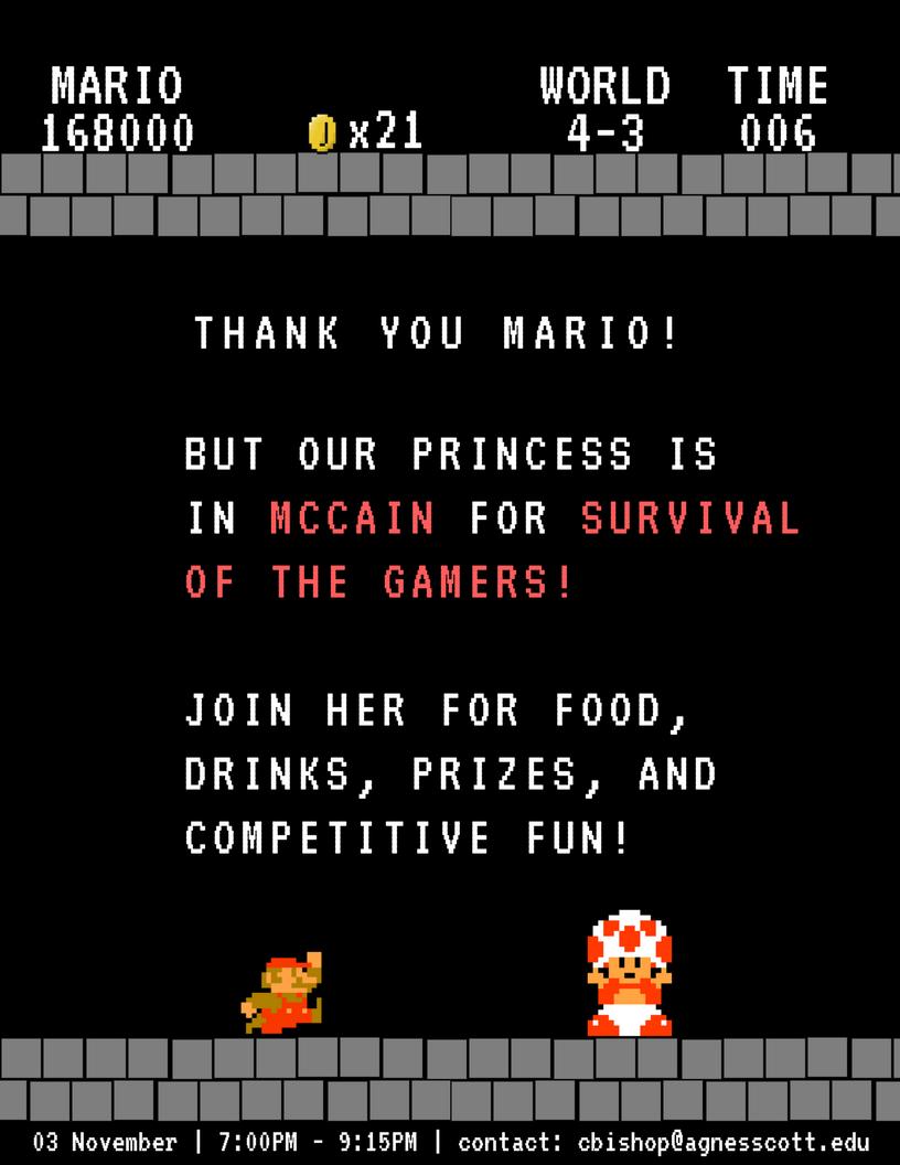 Mario Flyer