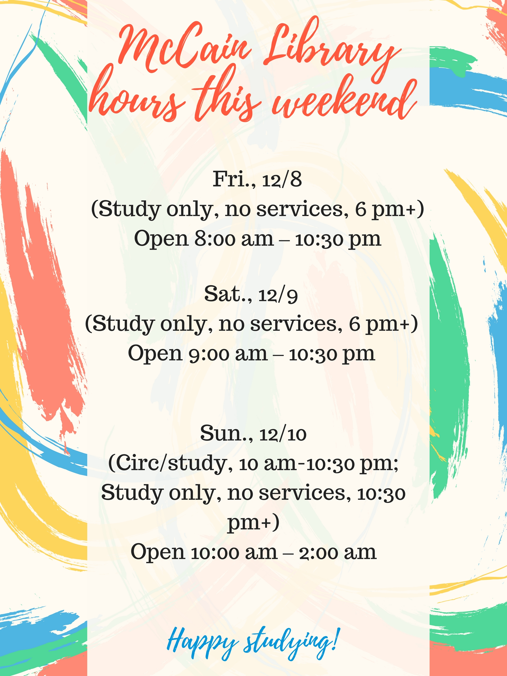 hours this weekend (1)