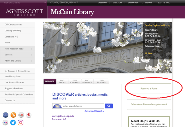 Lib Homepage