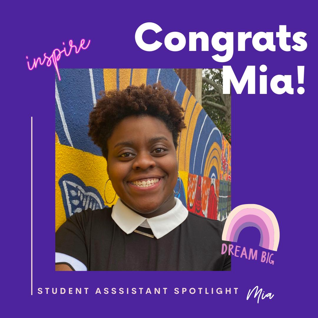 Student Spotlight Mia